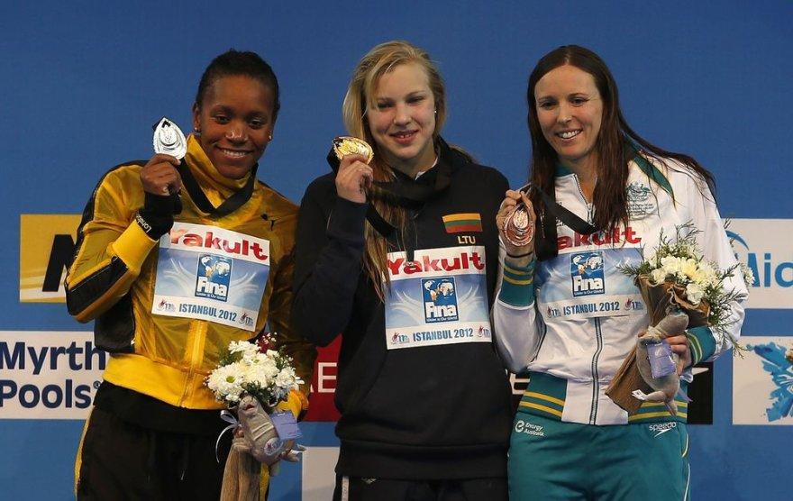 Rūta Meilutytė iškovojo aukso medalį.