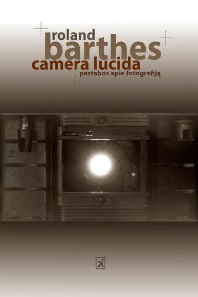"Knyga ""Camera lucida"""