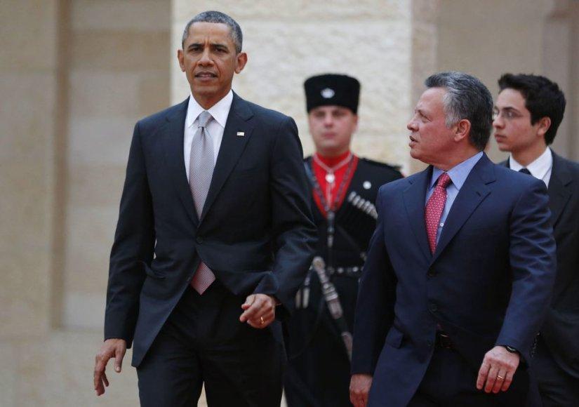 Barackas Obama ir Abdullah II