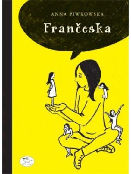 "Knygos viršelis/Knyga ""Frančeska"""