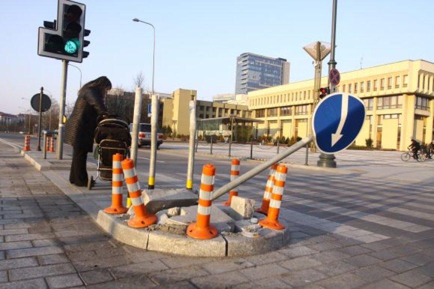 Sankryža Vilniuje prie Seimo