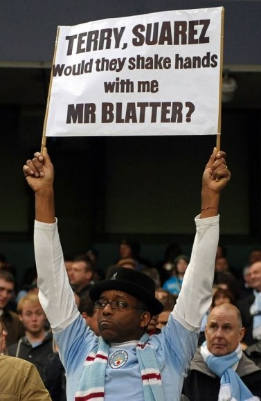 Sirgaliaus žinutė FIFA prezidentui S.Blatteriui