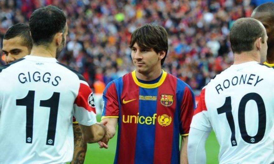 R.Giggsas, L.Messi ir W.Rooney