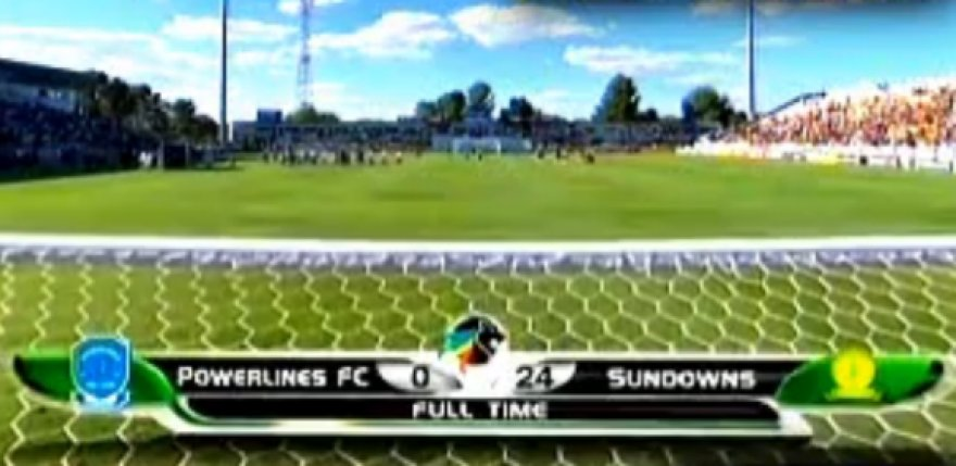 Pietų Afrikos taurės varžybose užfiksuotas neįtikėtinas rezultatas