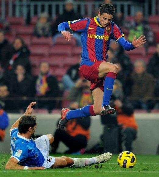 """Barcelona"" – ""Almeria"" rungtynių akimirka"