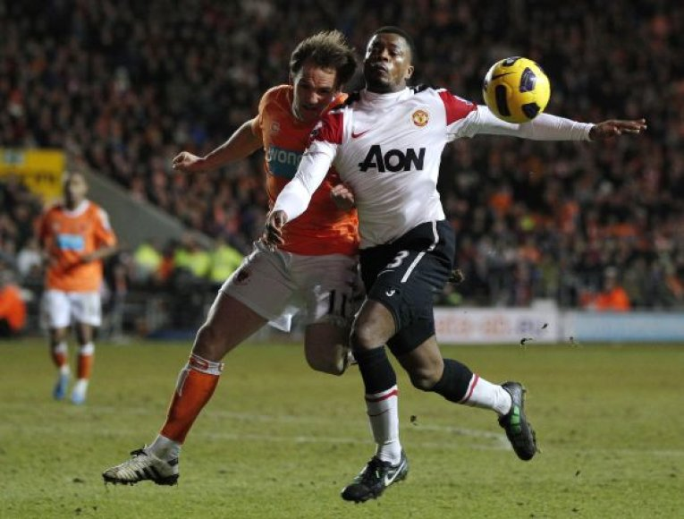 """""""Blackpool"""" – """"Manchester United"""""""