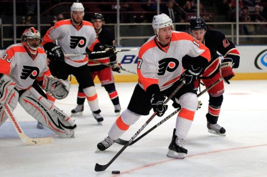 "Filadelfijos ""Flyers"" ledo ritulininkai"