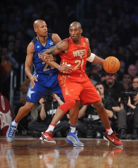 Ray'us Allenas prieš Kobe Bryantą