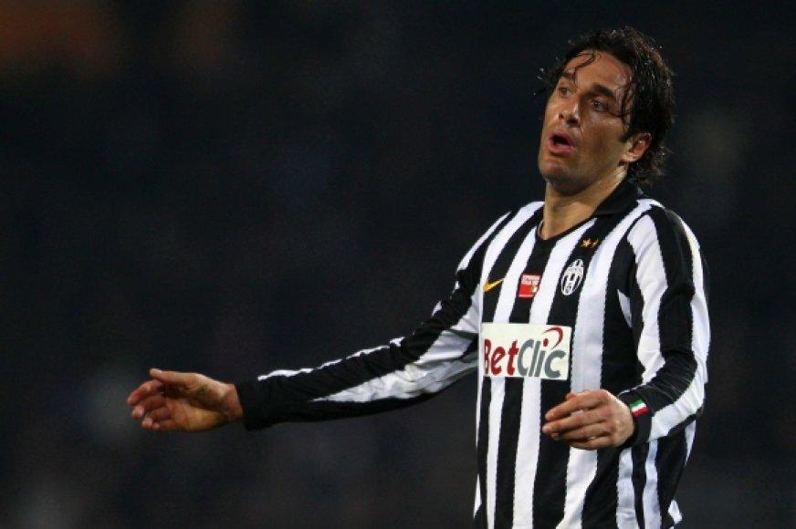 """Luca Toni (""""Juventus"""")"""
