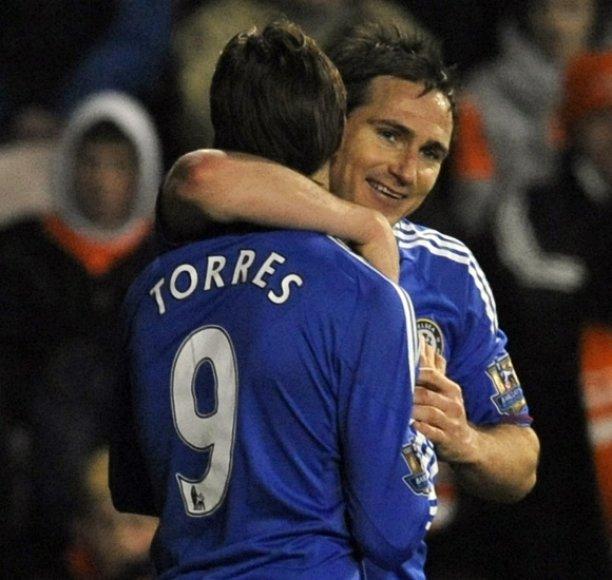 Frankas Lampardas ir Fernando Torresas