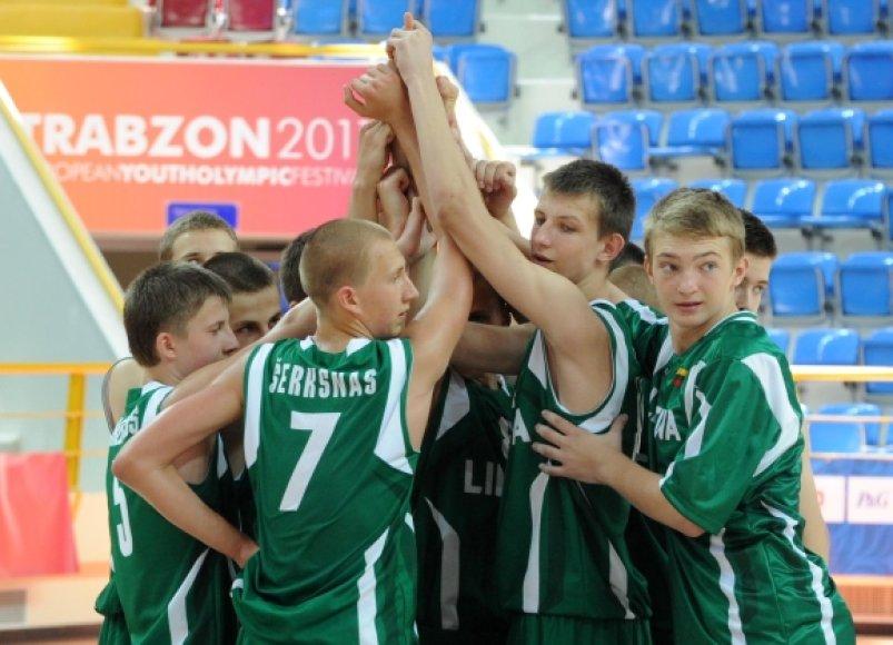 Lietuvos U-15 krepšinio rinktinė
