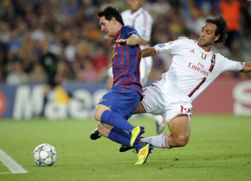 Lionelis Messi ir Alessandro Nesta