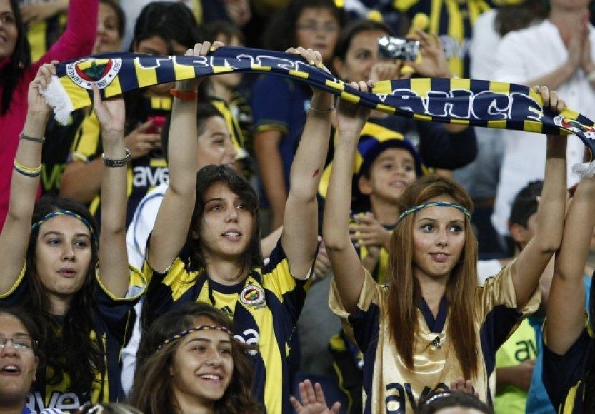 Turkijos futbolo sirgalės