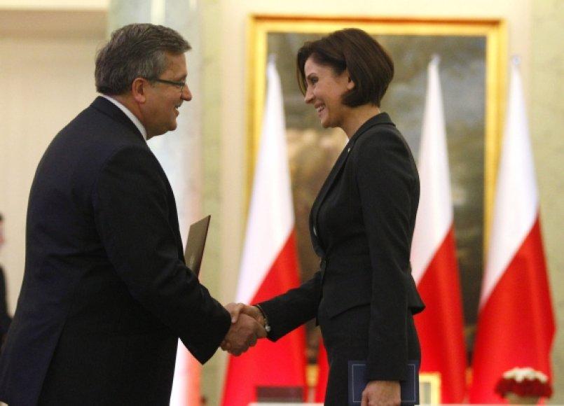 Lenkijos sportui vadovaus Joanna Mucha
