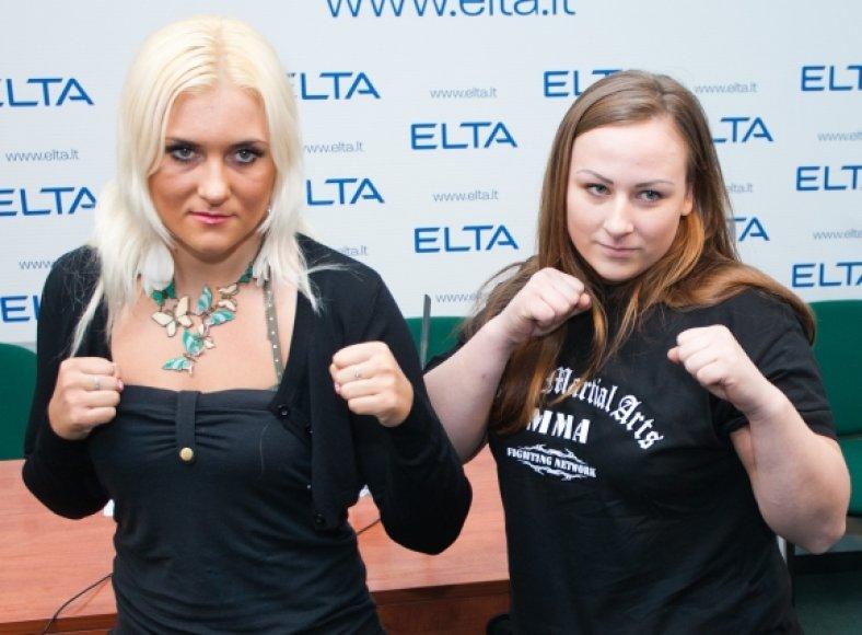 Jana Kunickaja (kairėje) ir Arūnė Laužeckaitė
