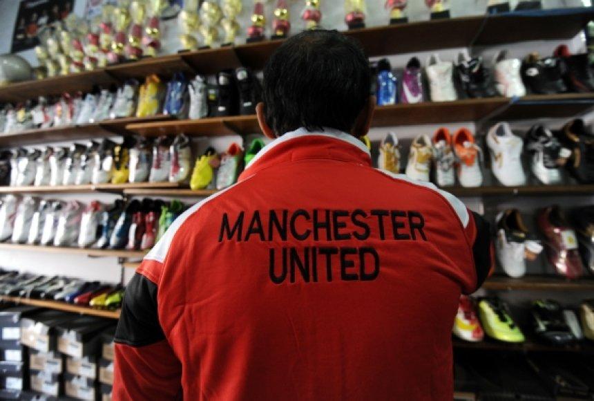 Manchester United per metus uždirba apie 350 mln. eurų