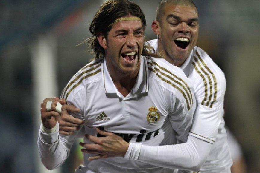 Sergio Ramos ir Pepe