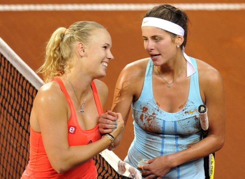 Caroline Wozniacki ir Julia Goerges