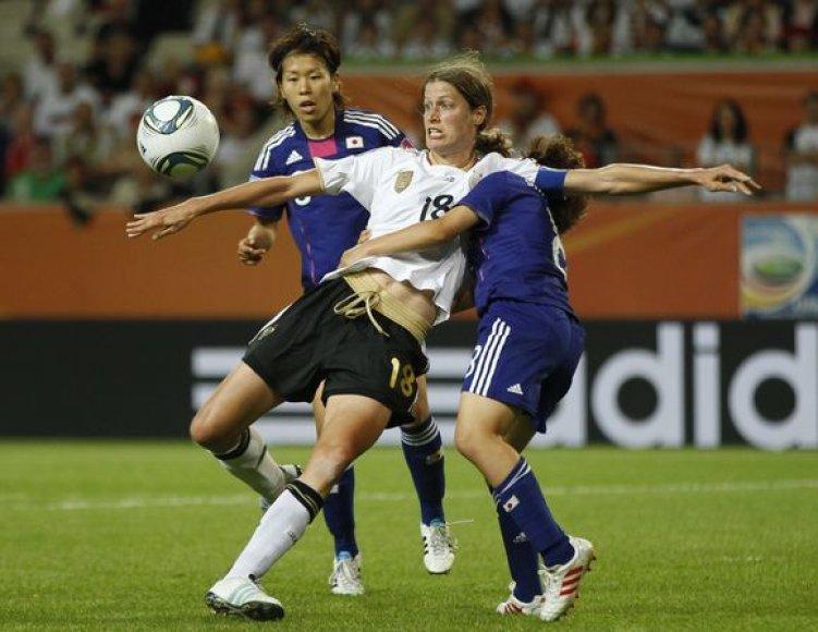 Čempionių vokiečių žygį sustabdė japonės