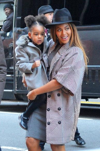 AOP nuotr./Beyonce su dukra Blue Ivy
