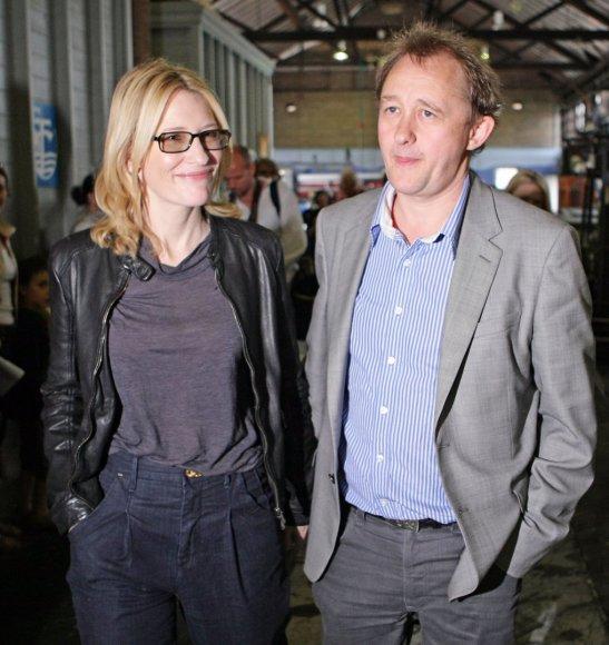 "AFP/""Scanpix"" nuotr./Cate Blanchett ir Andrew Uptonas"