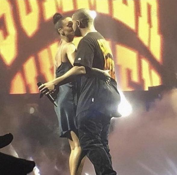 Vida Press nuotr./Drake'as ir Rihanna