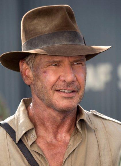 """Kadras iš filmo/Harrisonas Fordas filme """"Indiana Džounsas ir krištolo kaukolės karalystė"""" (2008 m.)"""