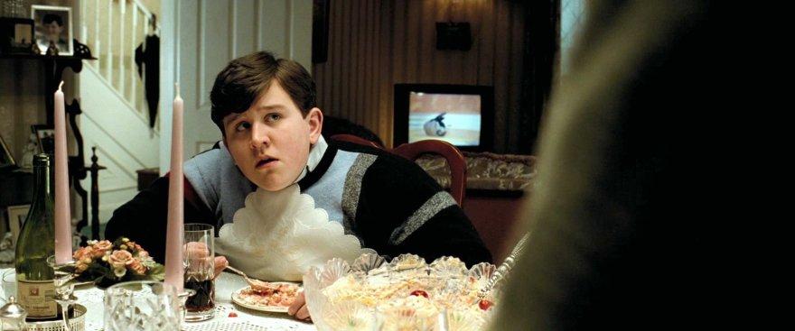"""Kadras iš filmo/Harry Mellingas filme """"Haris Poteris ir Azkabano kalinys"""" (2004 m.)"""