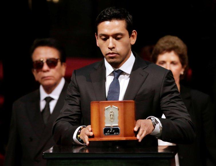 """""""Reuters""""/""""Scanpix"""" nuotr./Juano Gabrielio sūnus Ivanas Aguilaras"""