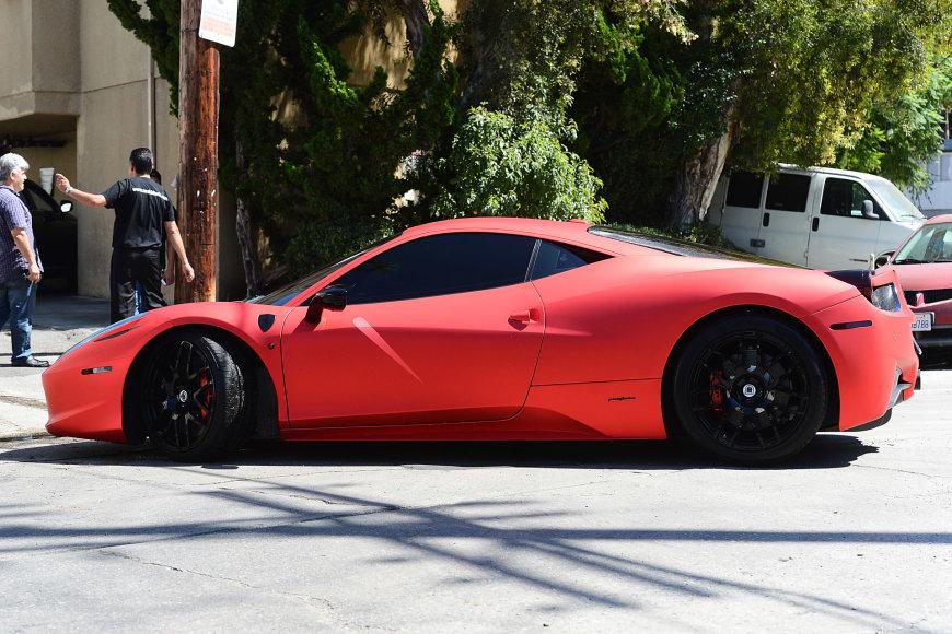 """Vida Press nuotr./Justino Bieberio """"Ferrari 458 Italia"""""""