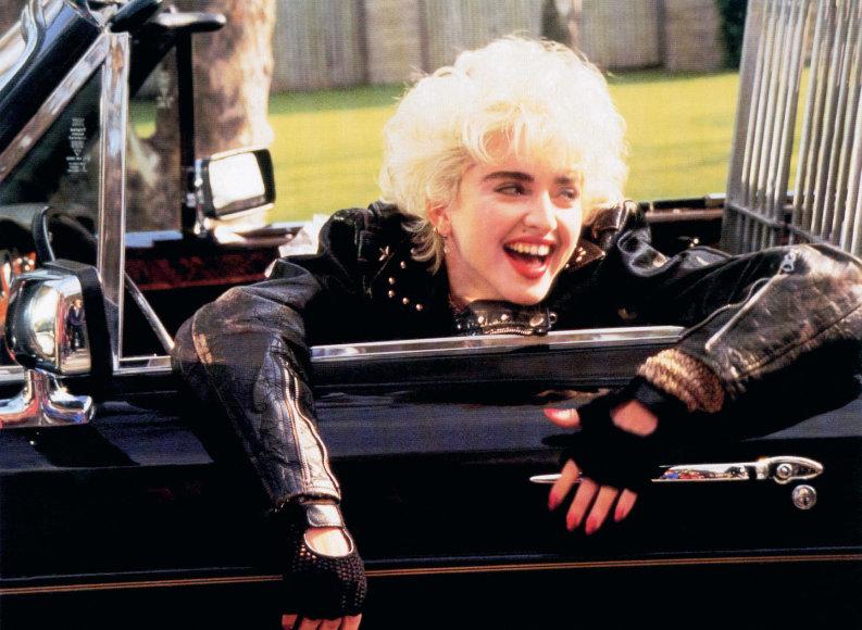 Vida Press nuotr./Madonna (1987 m.)