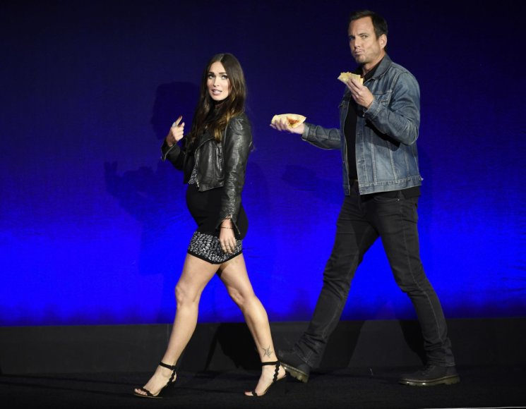 """Scanpix""/AP nuotr./Megan Fox ir Willas Arnettas"
