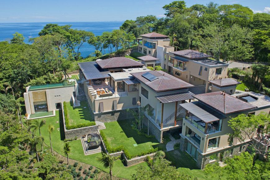 Vida Press (Villa Manzu/Splash News) nuotr./Prabangi vila Kosta Rikoje, kur ilsėjosi Kardashianų klanas