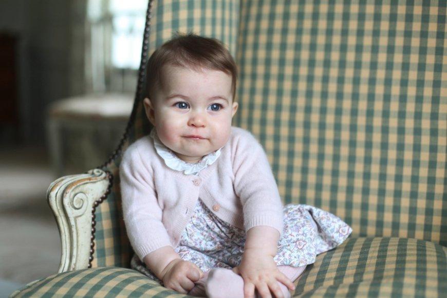 """Scanpix""/AP (Kembridžo hercogienės) nuotr./Princesė Charlotte"