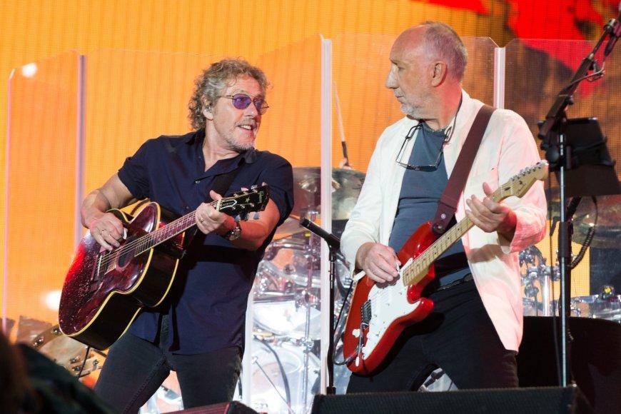 """Scanpix""/AP nuotr./""The Who"" nariai Rogeris Daltrey ir Pete'as Townshedas"