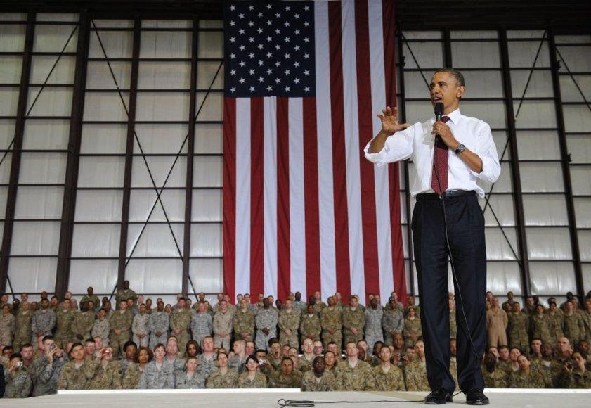 Barackas Obama Afganistane