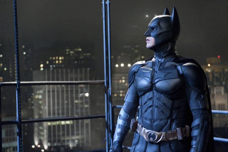 """Christianas Bale'as filme """"Tamsos riterio sugrįžimas"""" (The Dark Knight Rises)"""