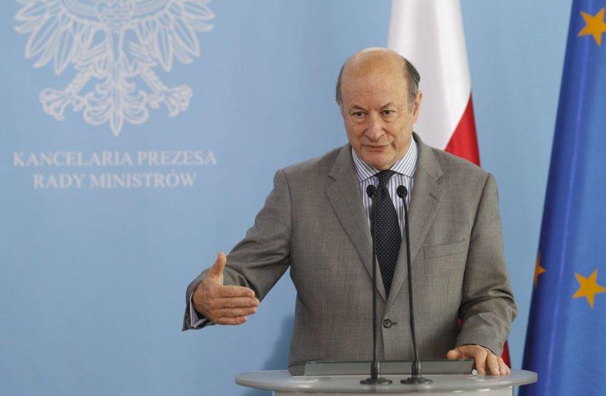 Lenkijos finansų ministras Jacekas Rostowskis