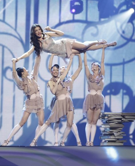 """Kipro atstovė Ivi Adamou 2012-ųjų """"Eurovizijoje"""""""
