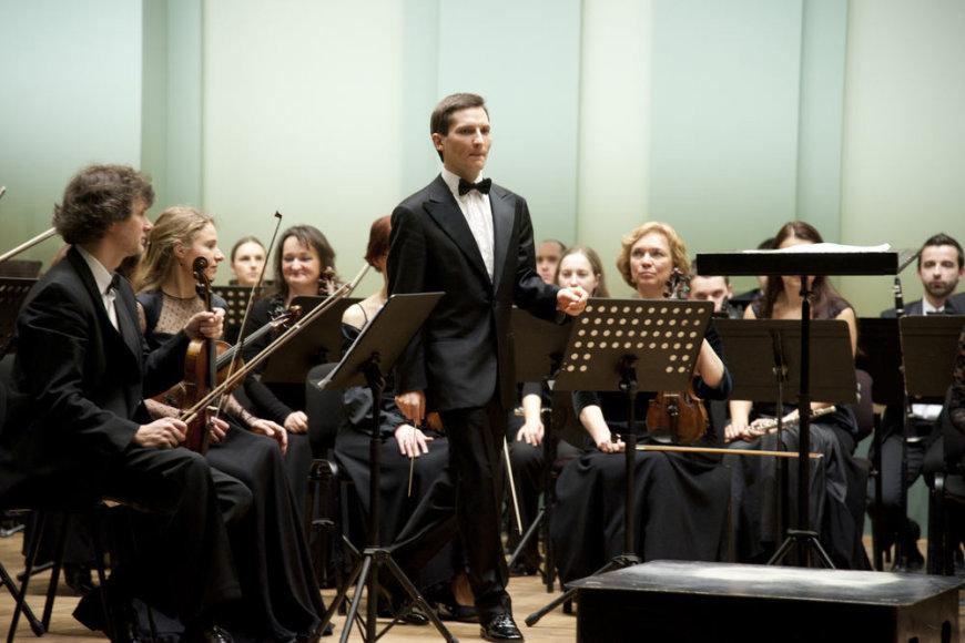 Dirigentas Modestas Barkauskas