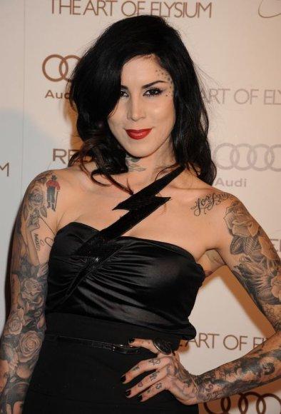Tatuiruočių meistrė Kat Von D