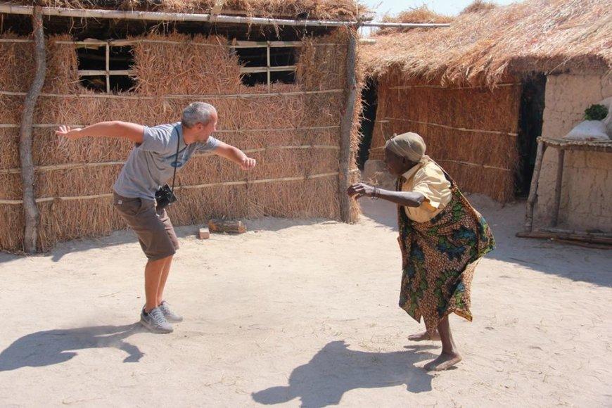Giedrius Savickas Tanzanijoje