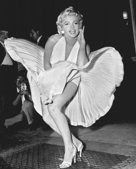 """""""Scanpix""""/AP nuotr./Marilyn Monroe"""