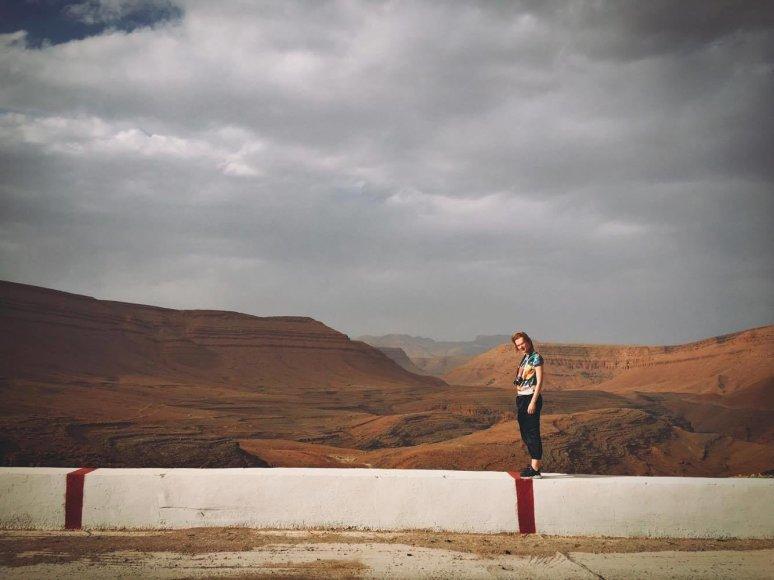 Sauliaus Baradinsko nuotr./Trumpa Beatos Tiškevič stotelė Maroke