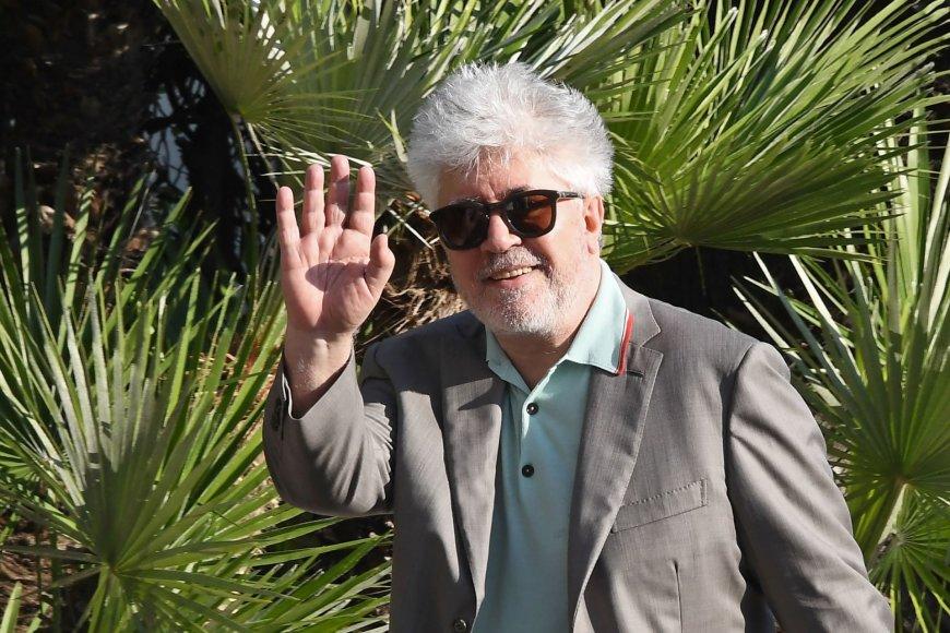 """AFP/""""Scanpix"""" nuotr./Festivalio vertinimo komisijai vadovaus ispanų režisierius Pedro Almodovaras"""