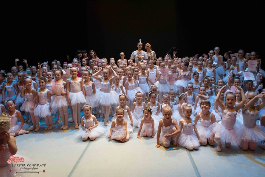 Loretos Kondratės nuotr./Nerijaus Juškos baleto mokyklos sezono uždarymas