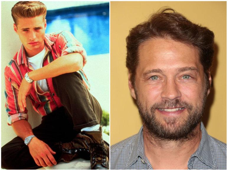 """""""Vida Press"""" ir """"Scanpix"""" nuotr./Jasonas Priestley """"Beverli Hilso, 90210"""" laikais ir 2017 metais"""