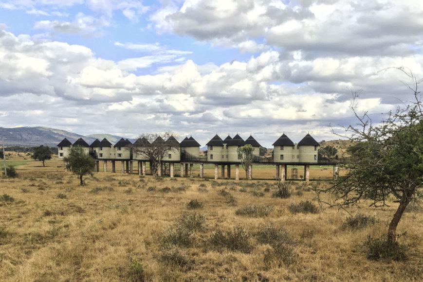 Asmeninio albumo nuotr./Erikos Purauskytės medaus mėnuo Kenijoje
