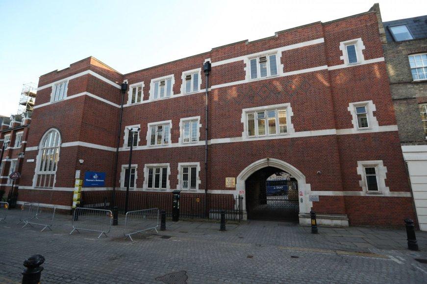 """""""Scanpix"""" nuotr./""""Thomas's Battersea"""" mokykla Londone, kurioje mokysis princas George'as"""