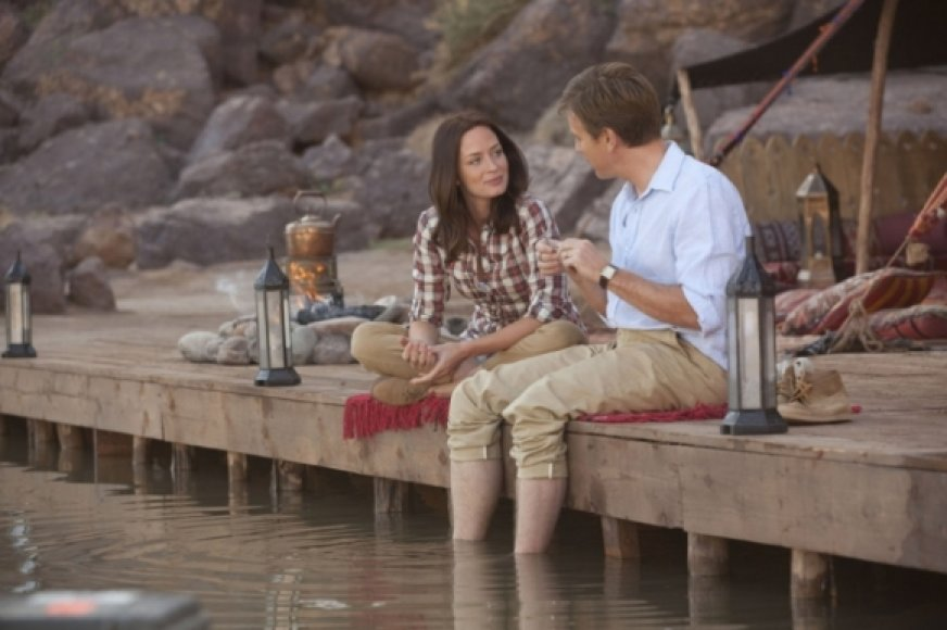 "Emily Blunt filme ""Tai nutiko Jemene"""
